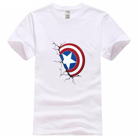 Captain America LOGO Tee Shirt