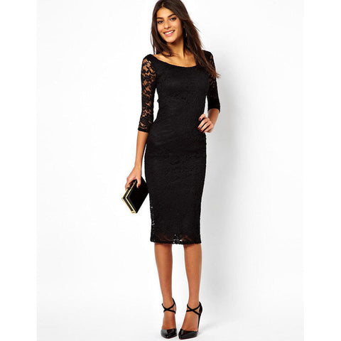 European Style Womens Lace Dress