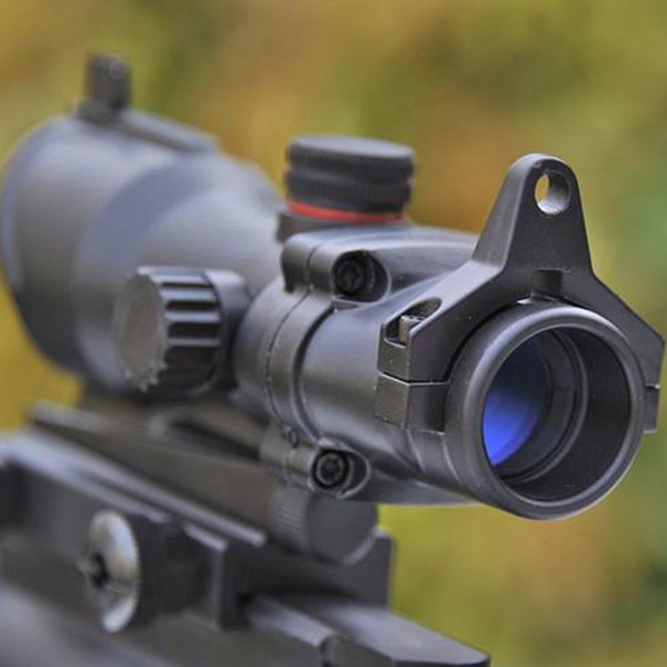 trijicon ACOG 1x35 Hunting Red Green Dot Sight Scope Tactical Riflescope For Air Rifle