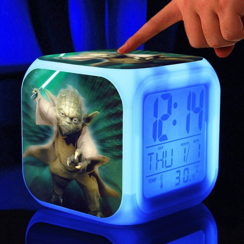 Star Wars Yoda Clock