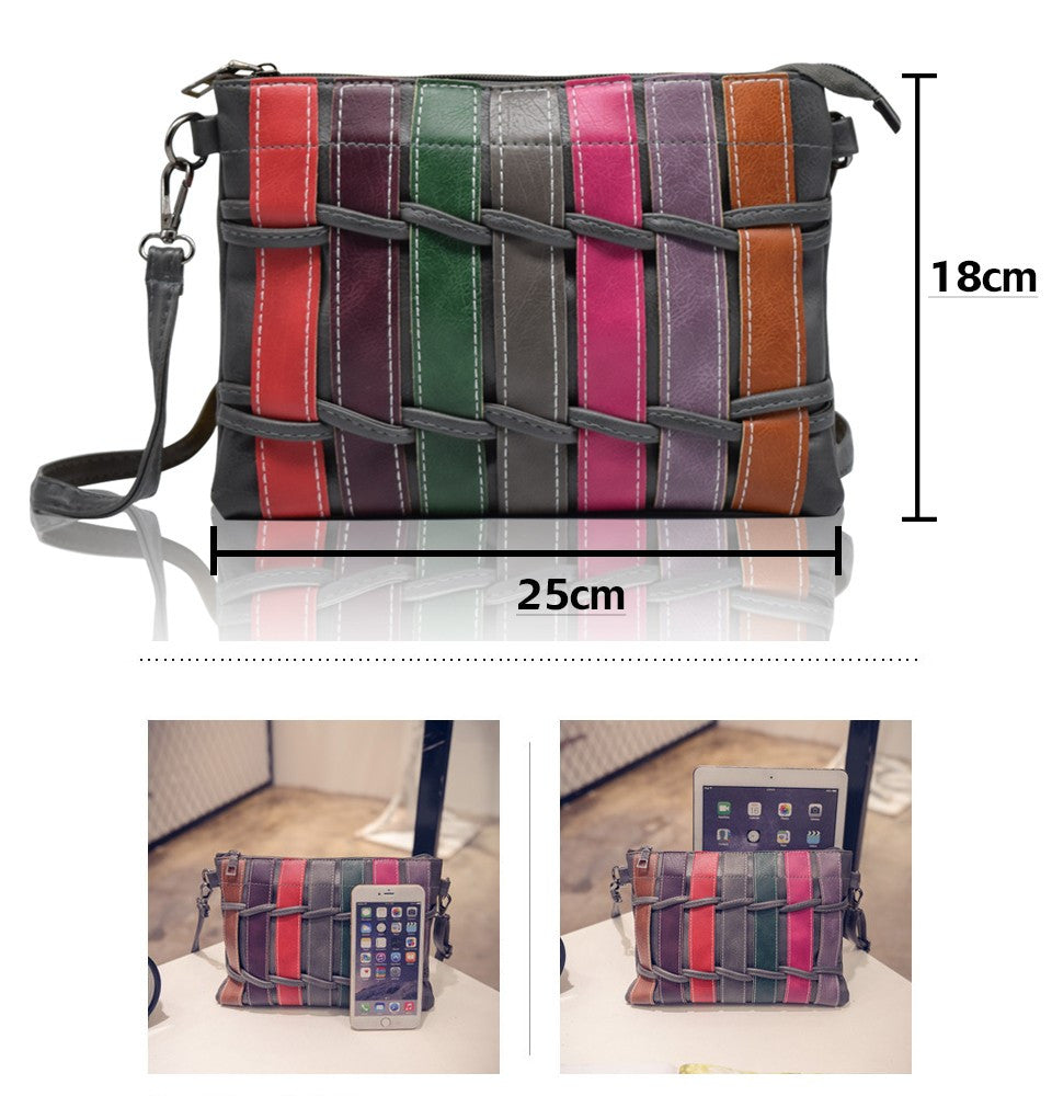 New Women Messenger Bag Design Personalized Fashion Envelope Bag Clutch Purse Handbags Casual Shoulder Bag