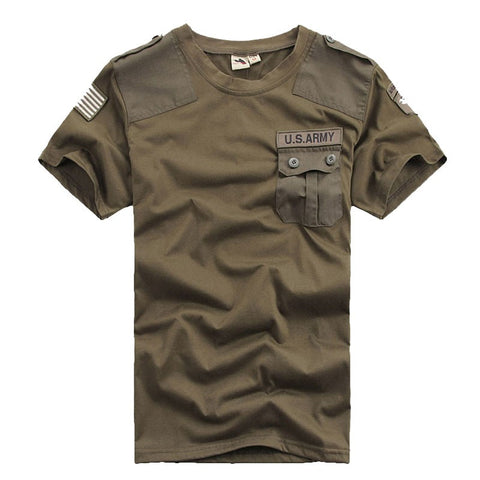 Mens T Shirts Men Casual Confederate US Army 101st Airborne Division 100% Cotton T-Shirt Military Tactical Comfort Tshirt Tees