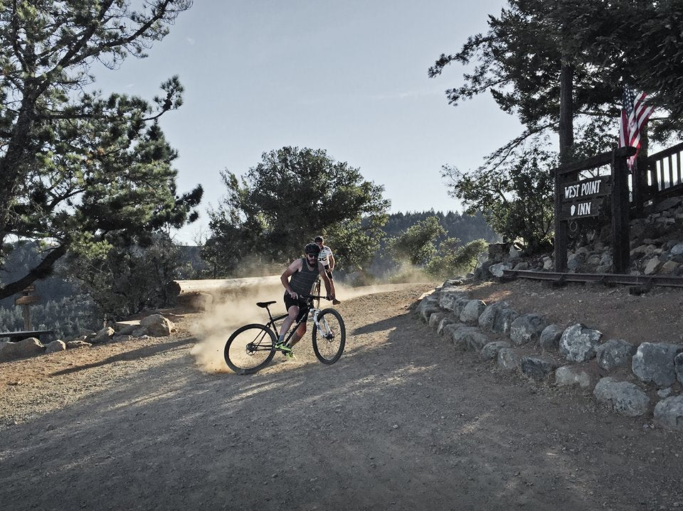 The last year wasn't just filled with training rides. There were tank-top skids down Mt. Tam a-plenty.
