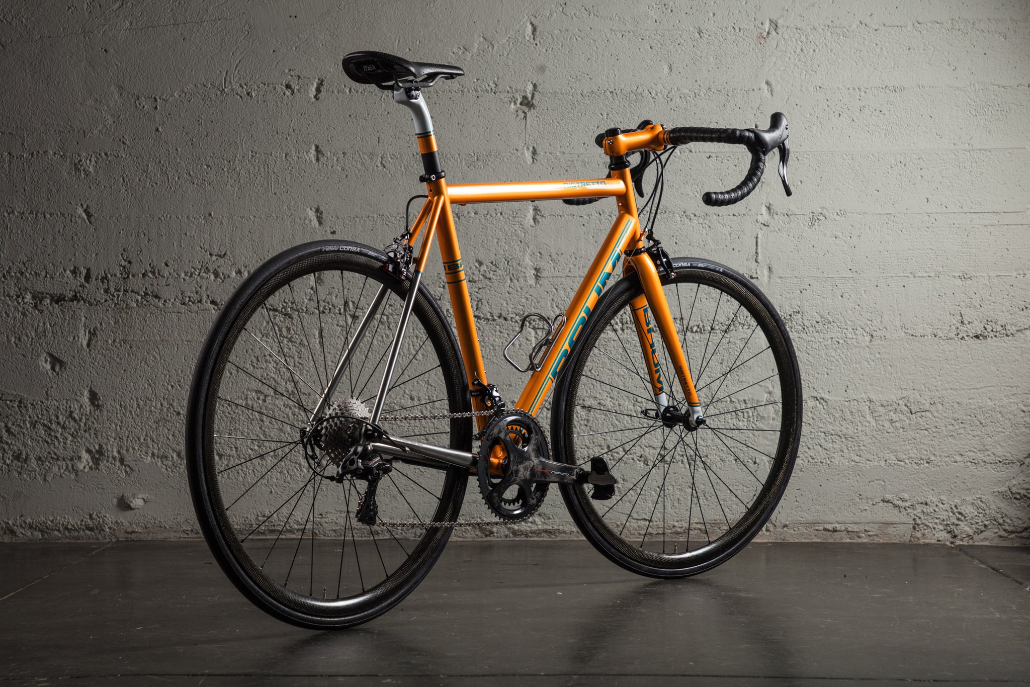 baum ristretto orange super record JC rear view