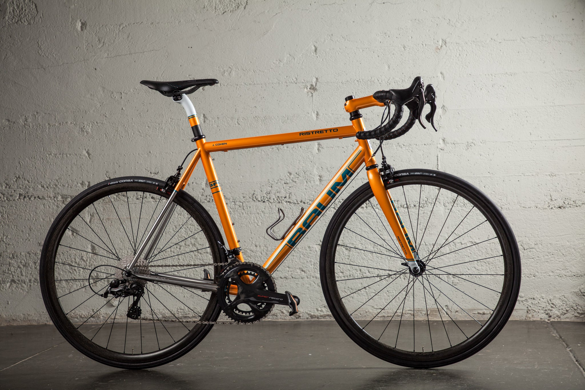 baum ristretto orange super record JC bike profile