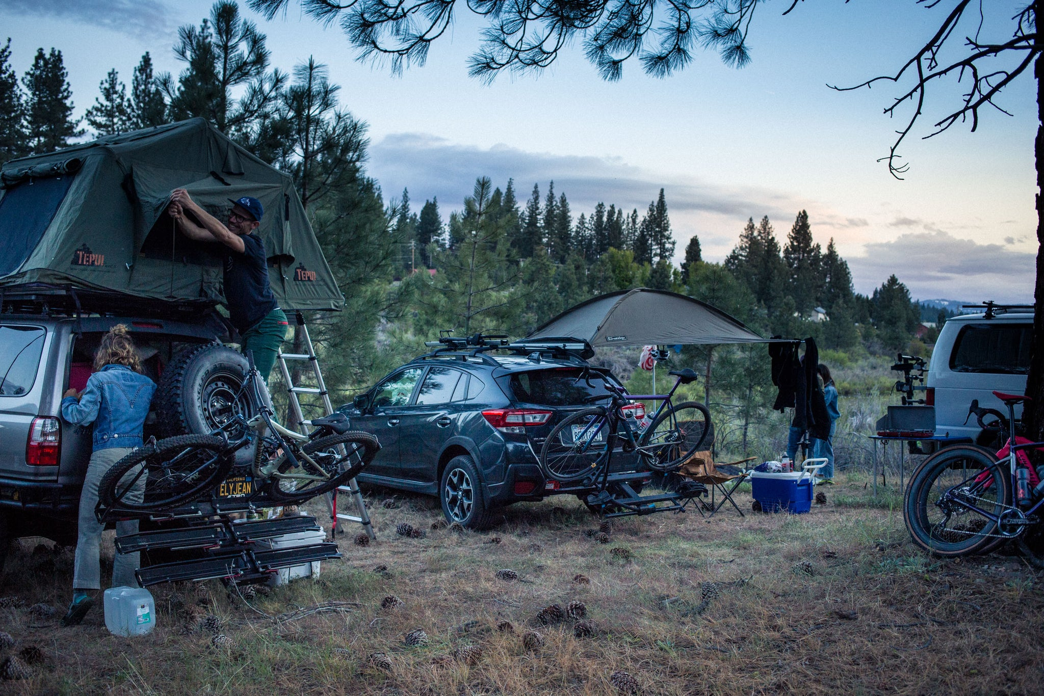 lost and found gravel grinder base camp