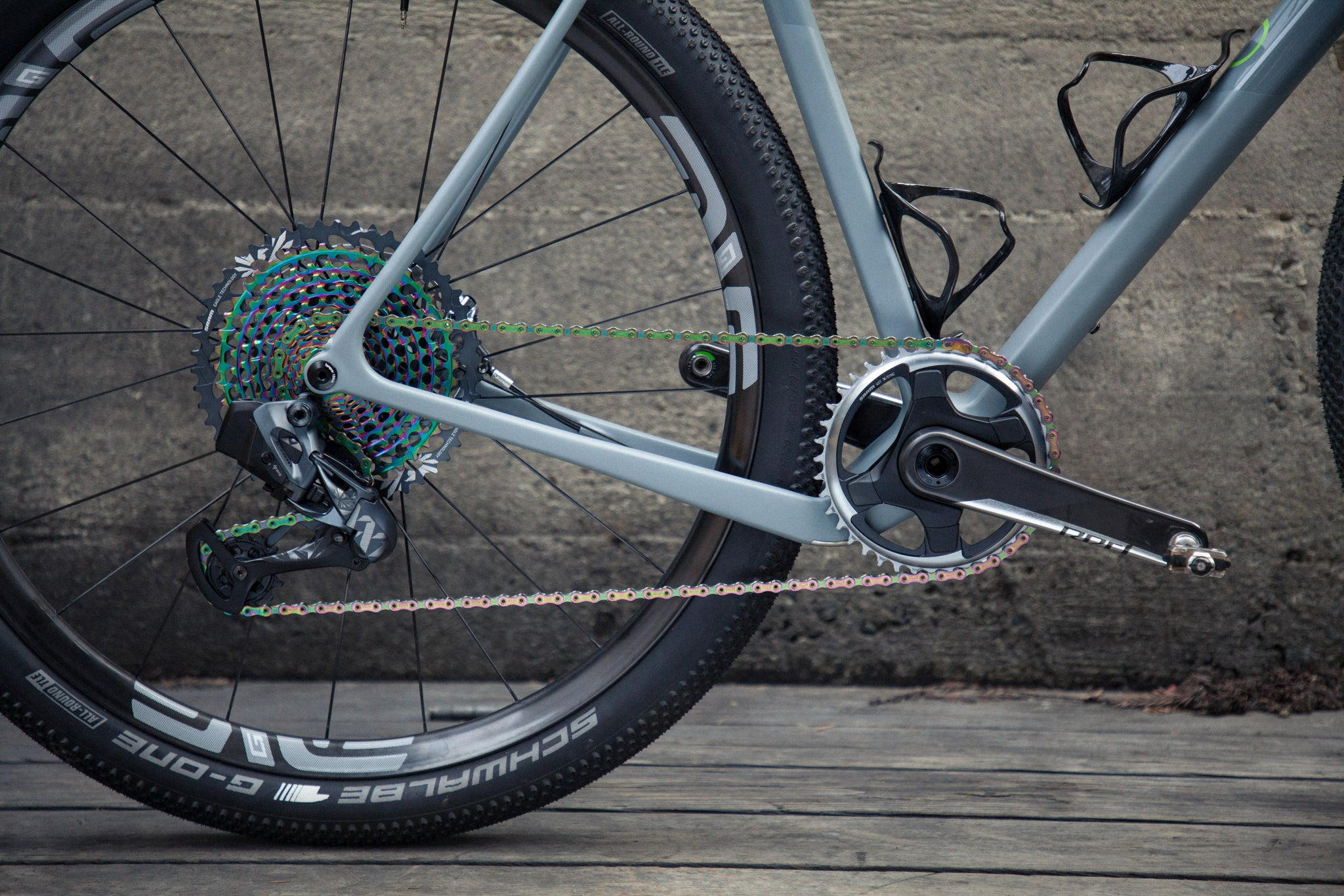 open wide test bike sram axs drivetrain