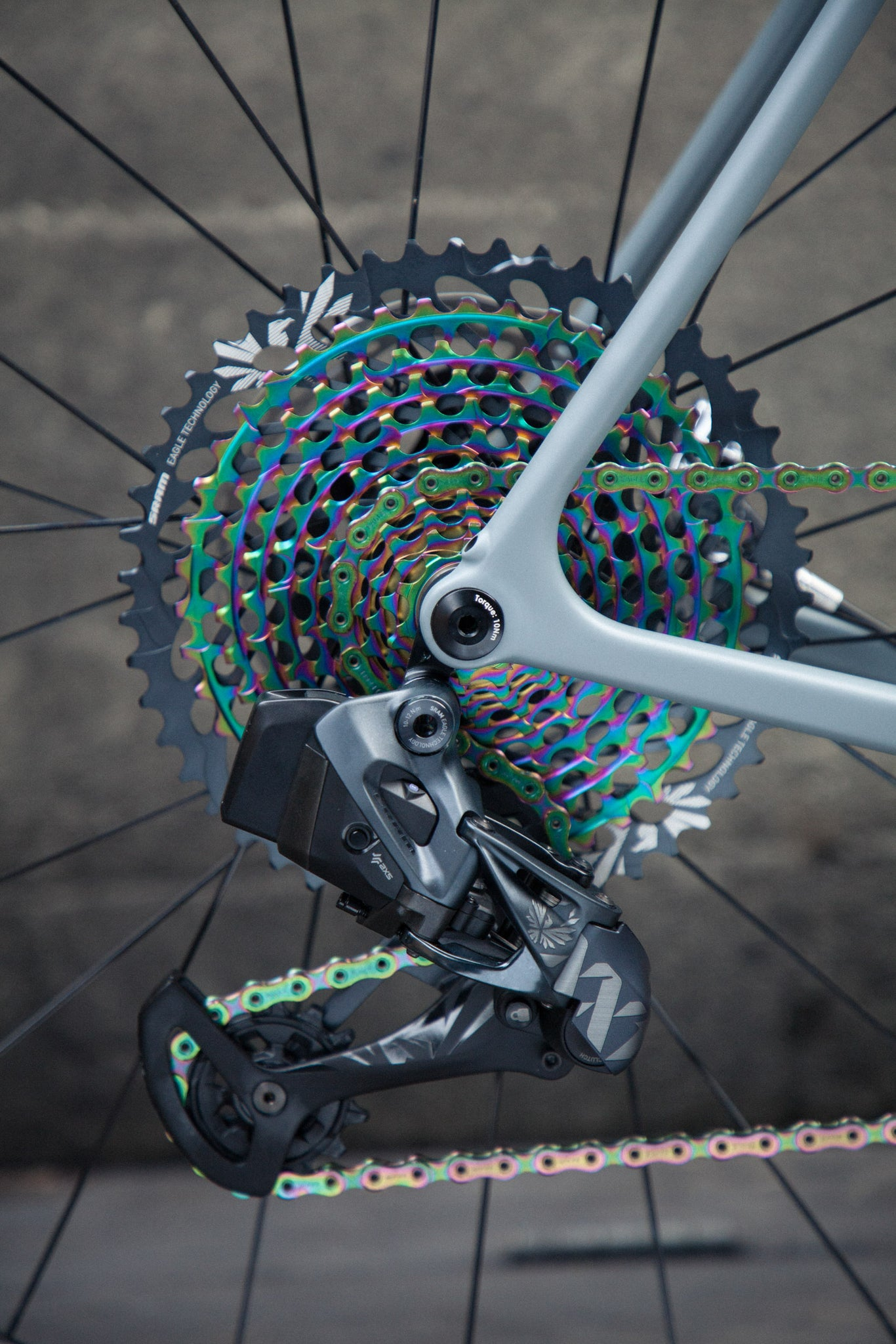 open wide test bike eagle rear derailleur