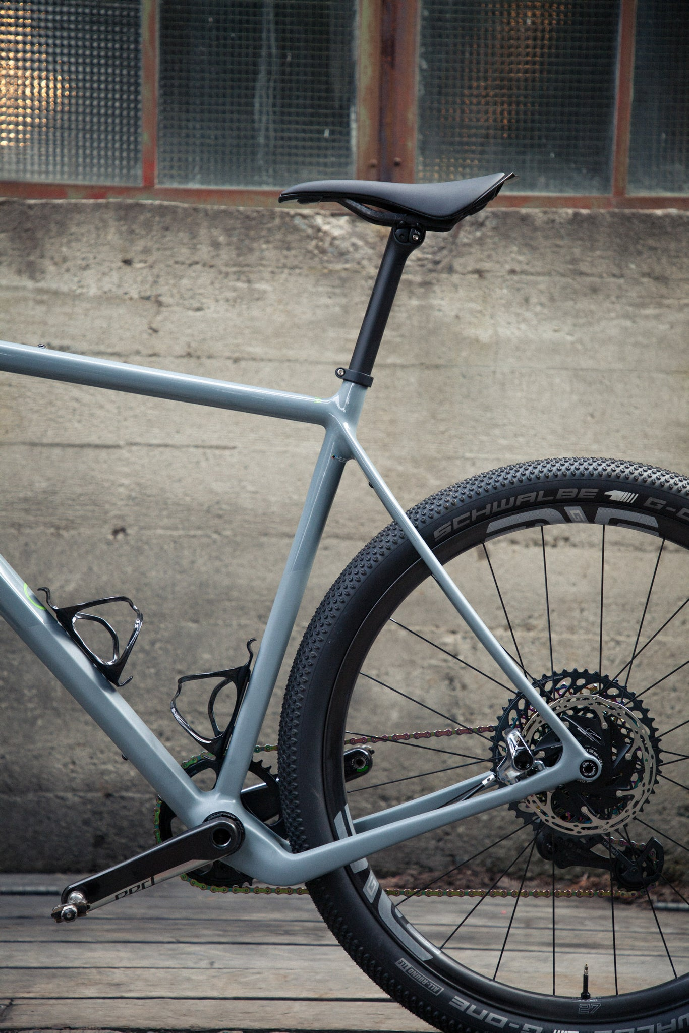 open wide test bike rear triangle