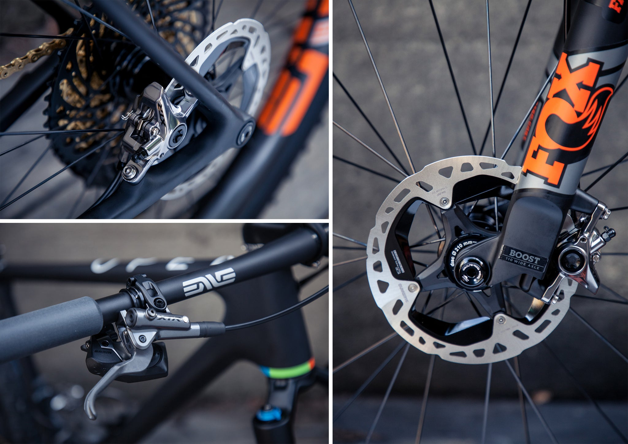 open cycles one plus mtb xtr brakes