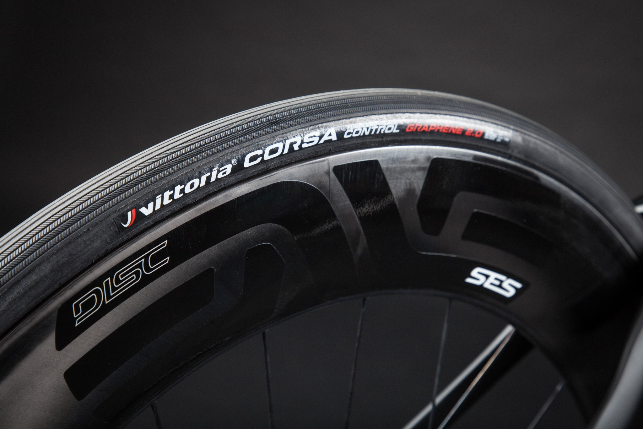 A Blacked Out Pinarello Bolide Gallery enve 7.8 rim vittoria