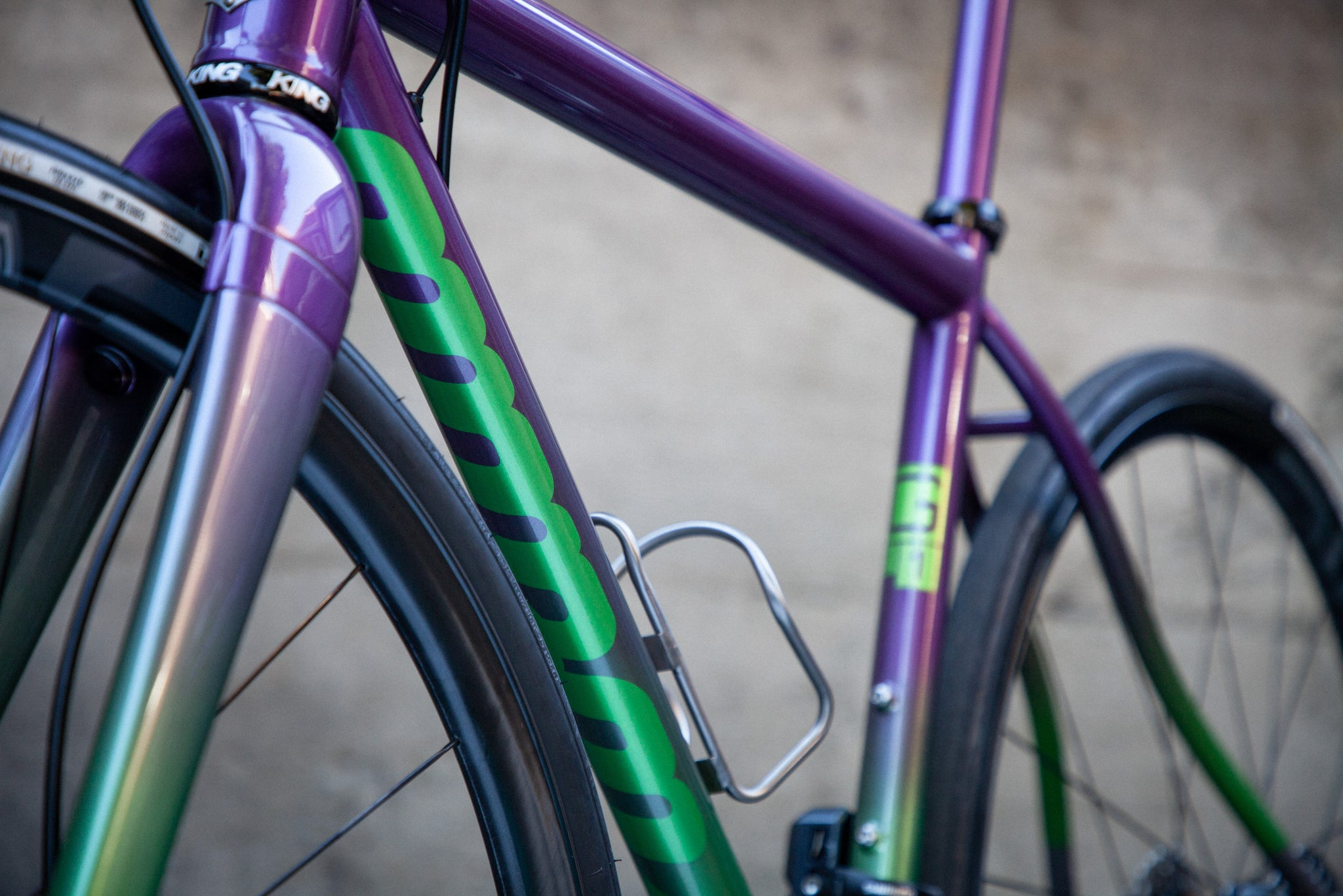 mosaic GT-1 purple green GRX header