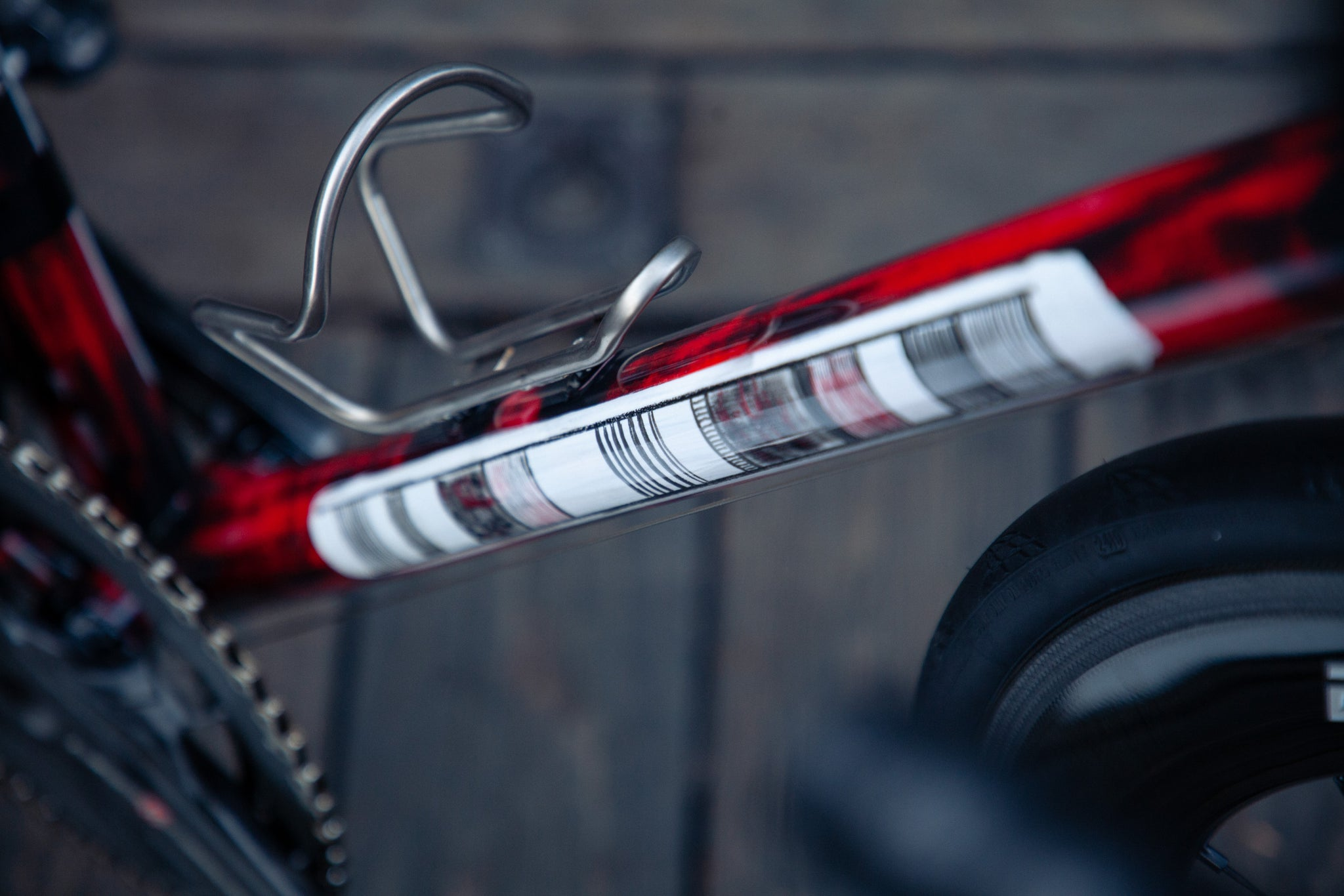 pegoretti Mxxxxxo wine red campagnolo downtube