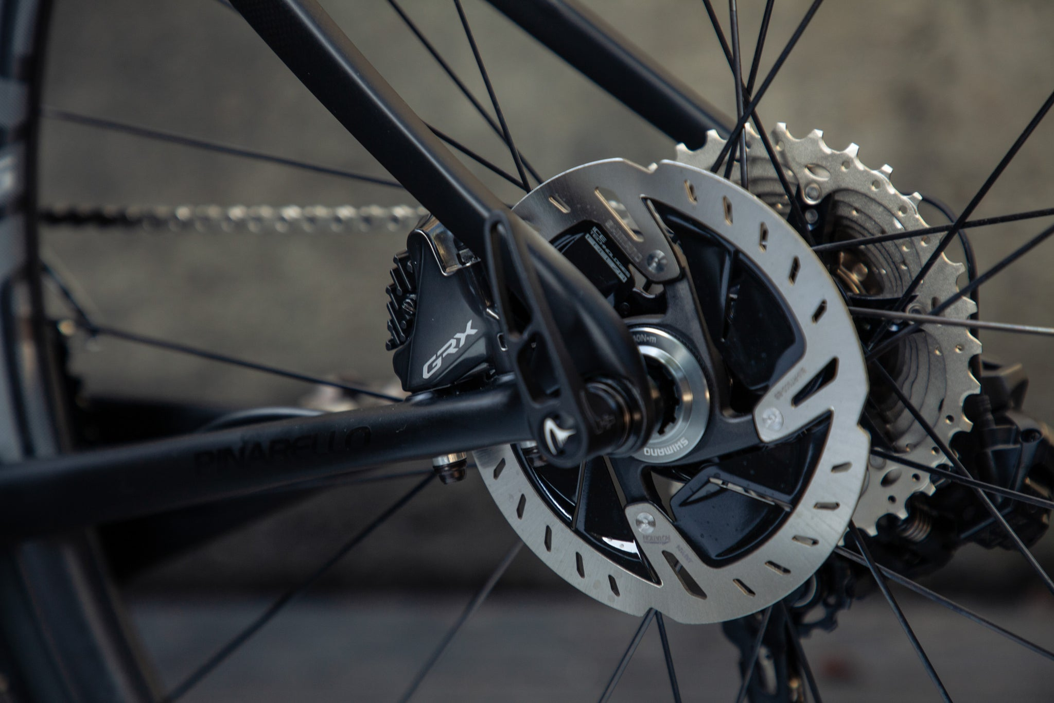 grevil plus grx enve rear brake