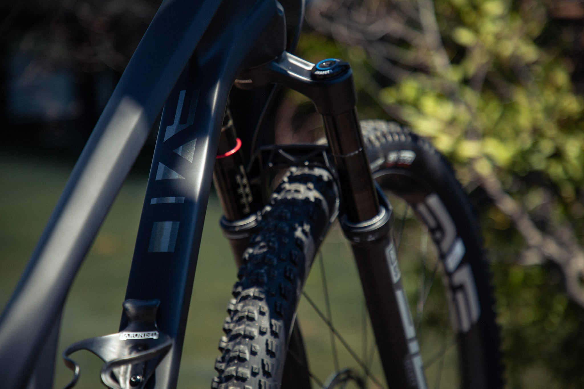 Evil Following Sram AXS Rockshox
