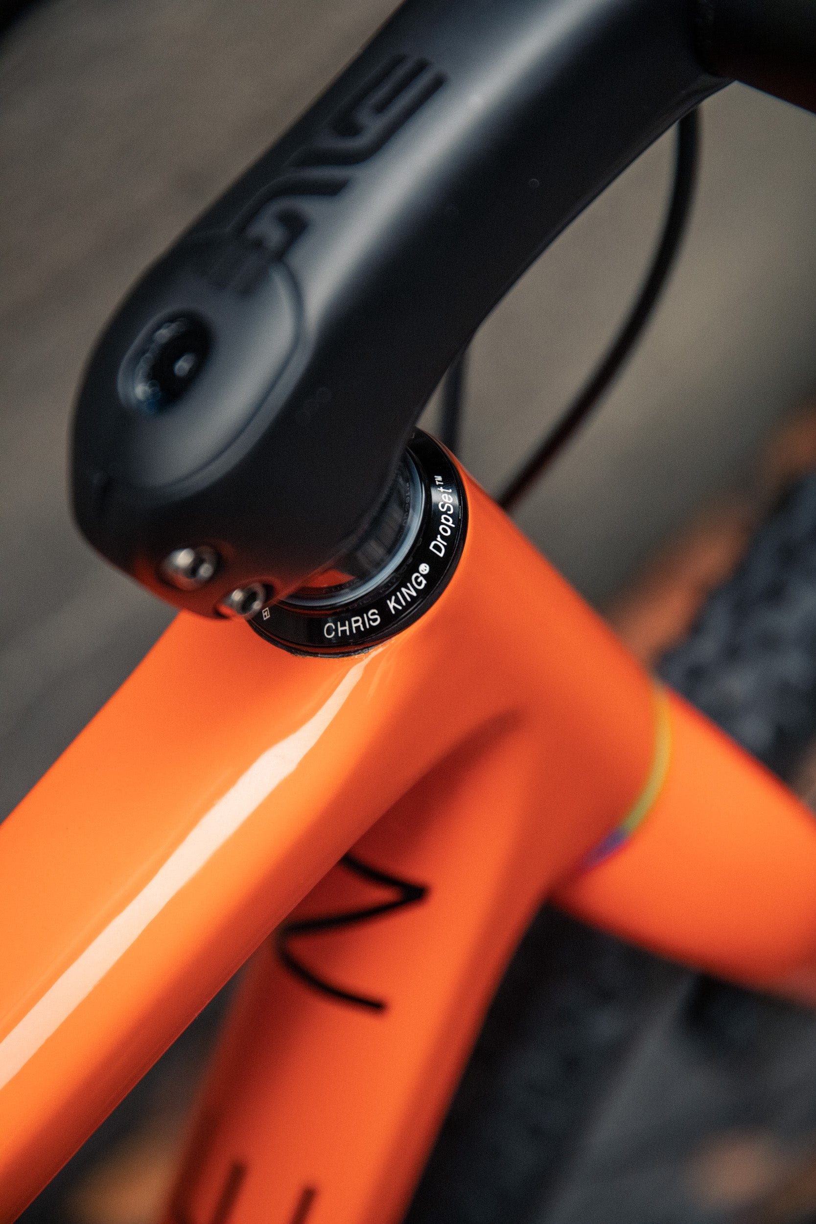Open WIde orange sram AXS Enve chris king