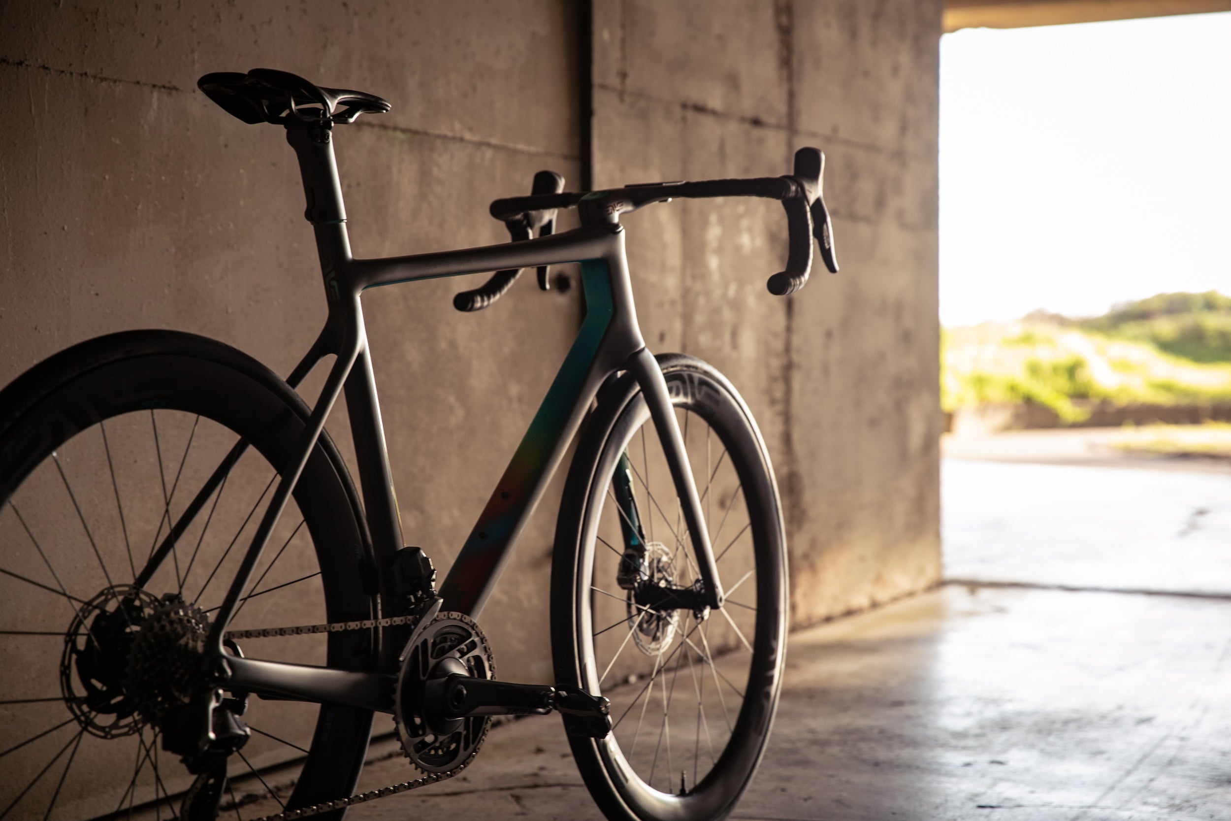 light at the end of the tunnel Enve Custom Road