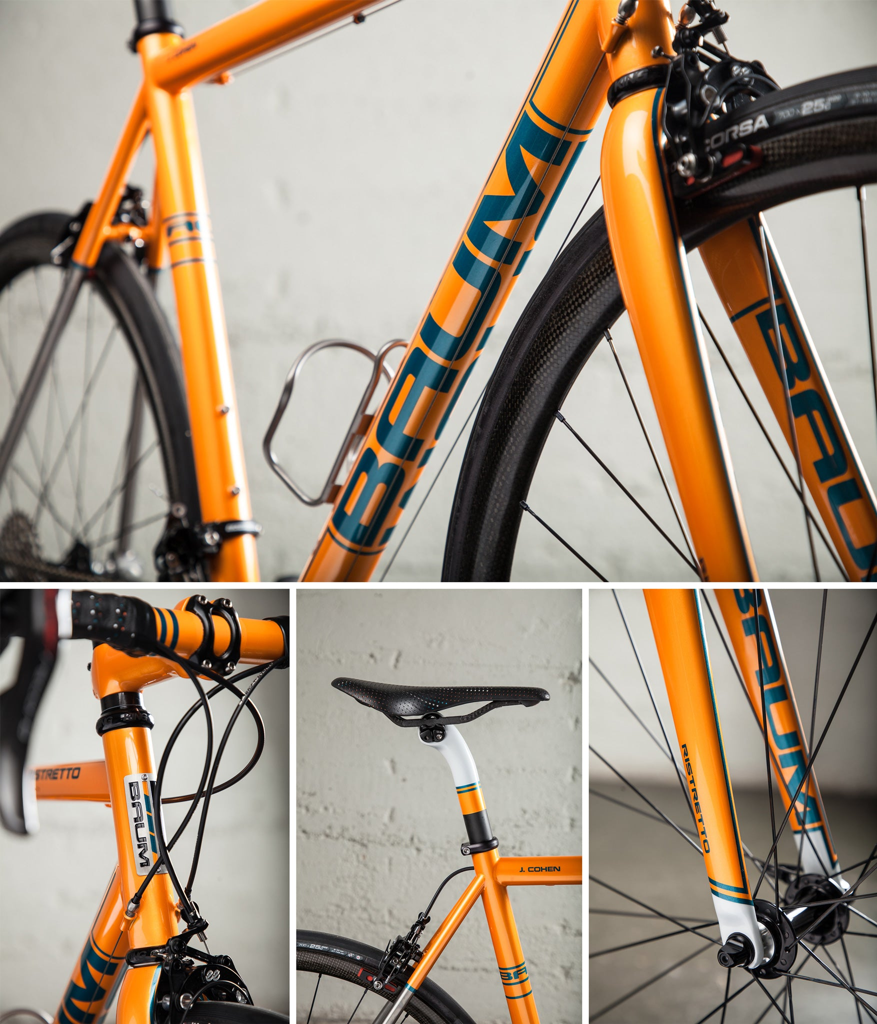 baum ristretto orange super record JC piant details