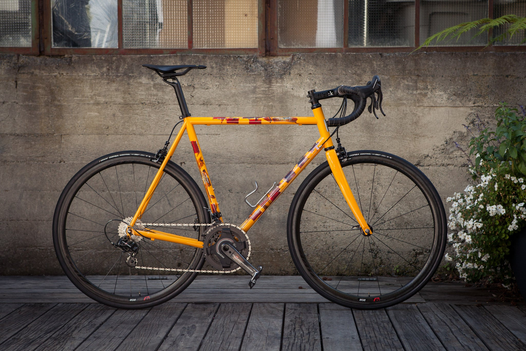 Pegoretti Custom Painted Steel Bike Ciavette