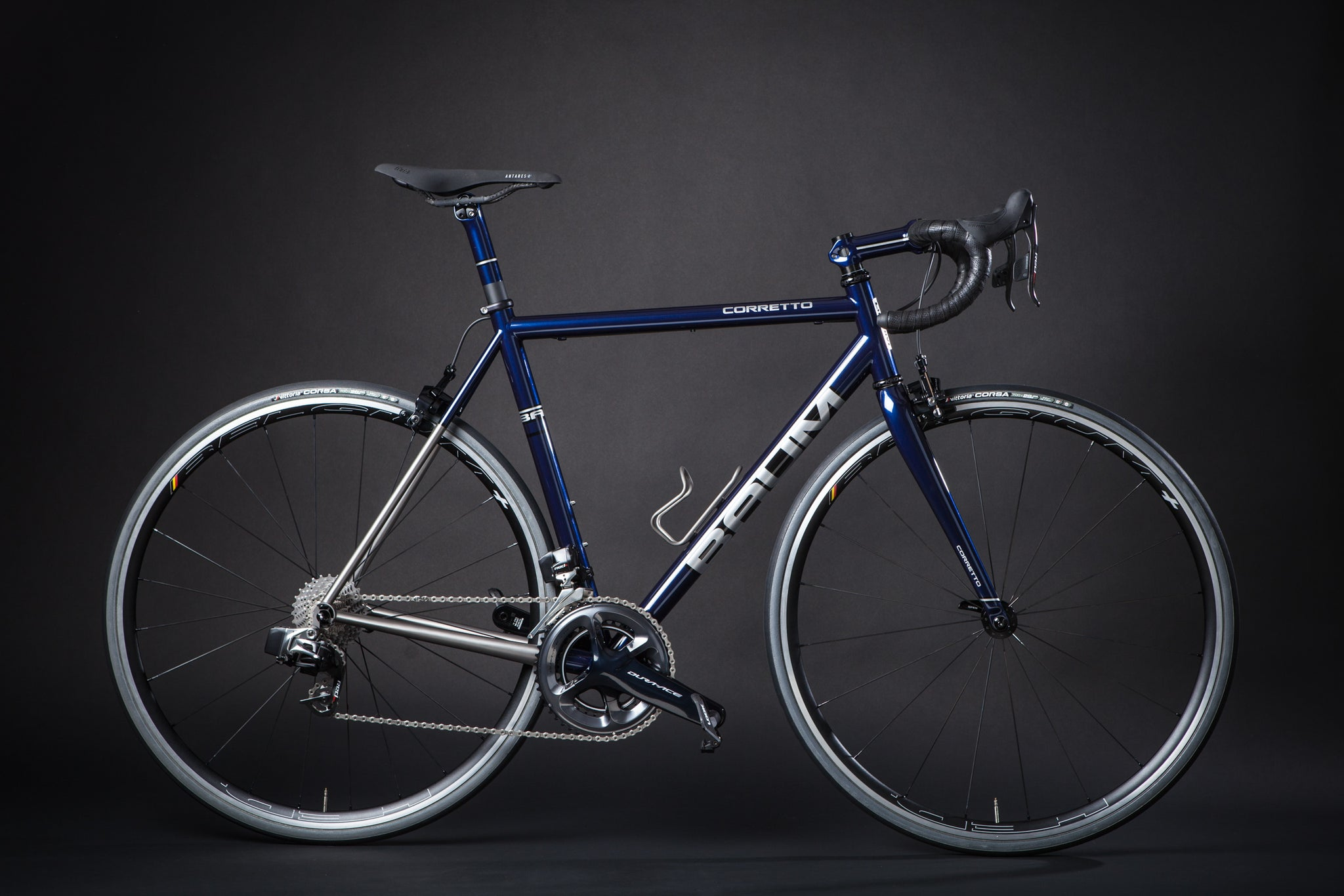Baum Custom Titanium Bicycle side