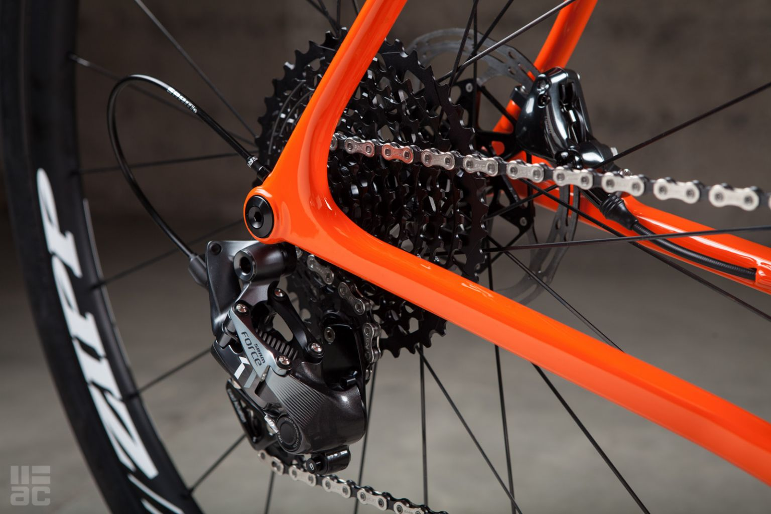 Bright Orange Open UP – Above Category Cycling