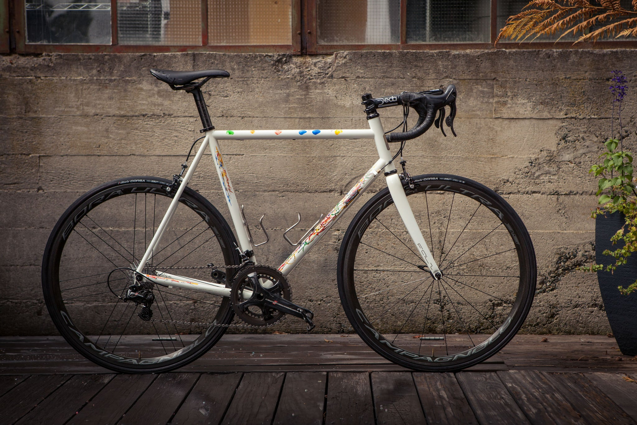 Custom Pegoretti Steel Bicycle side