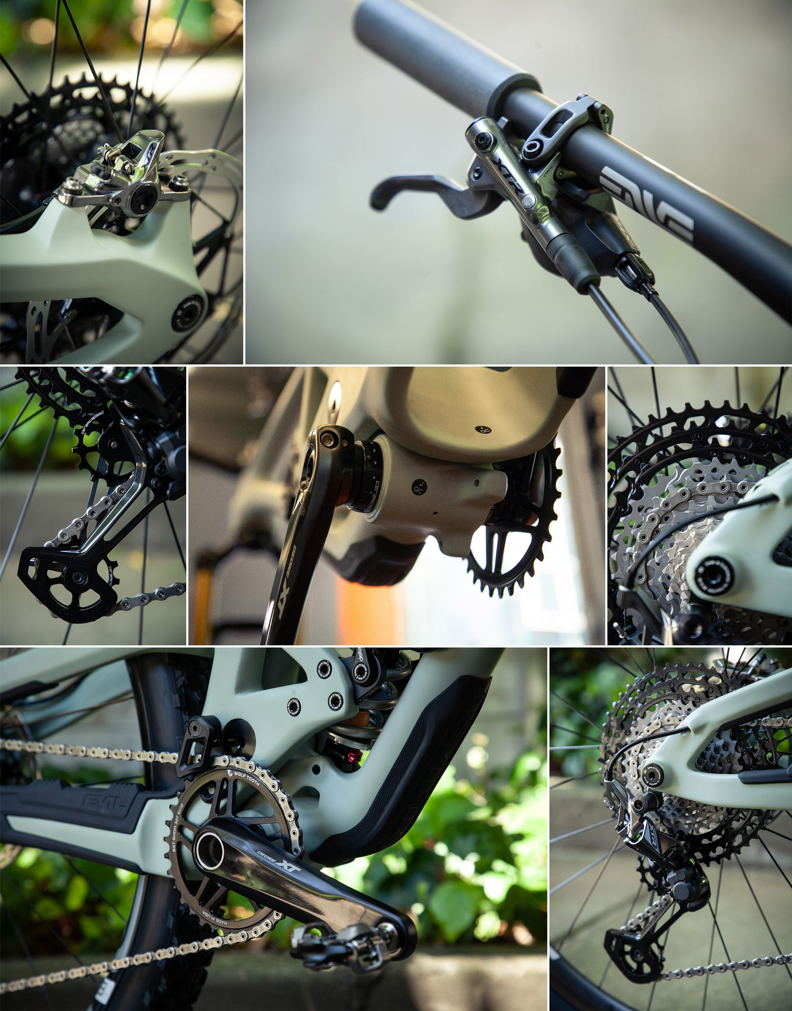 Evil Following XTR Drivetrain