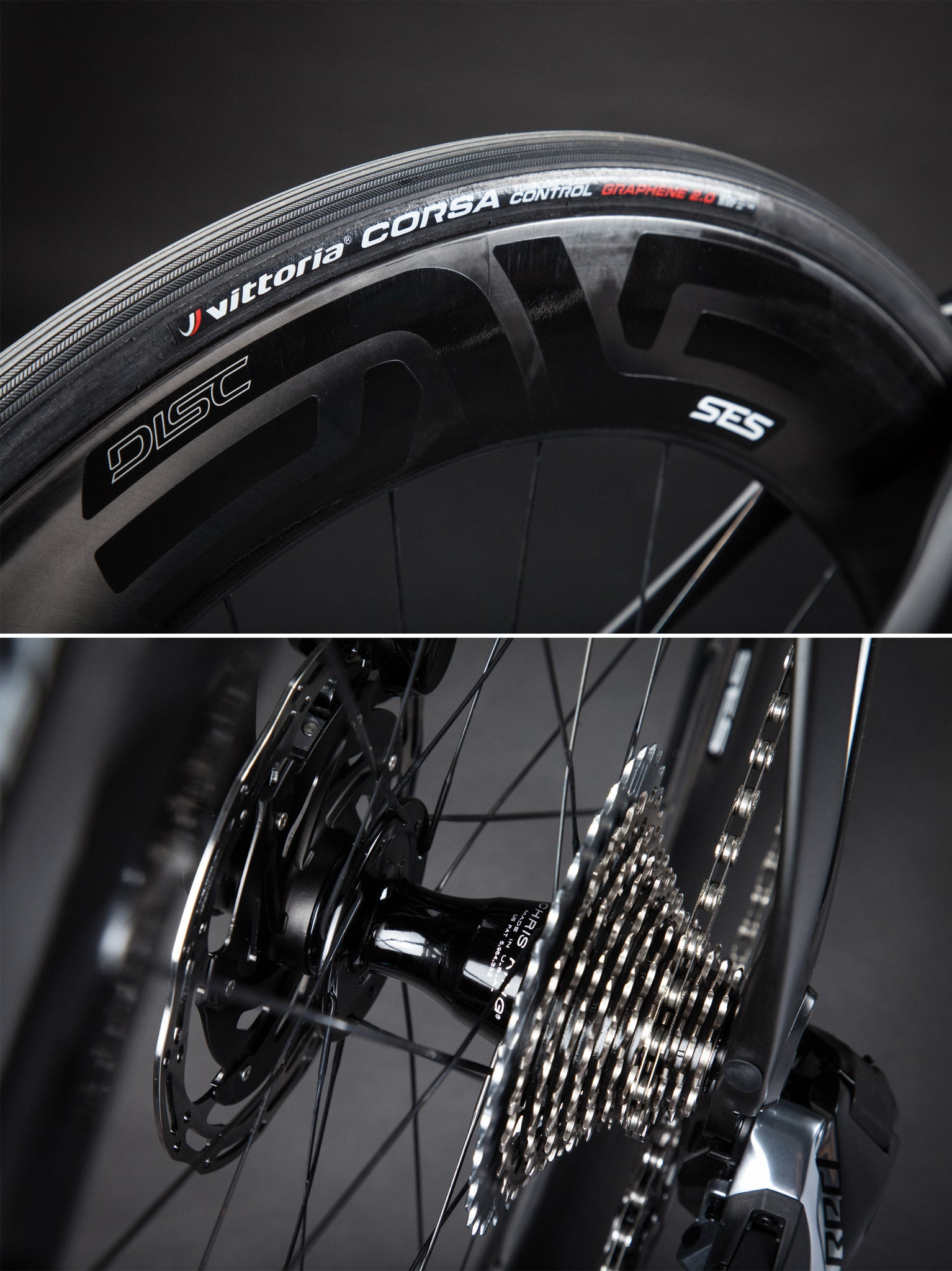 pinarello bolide wheels enve 7.8 AR chris king