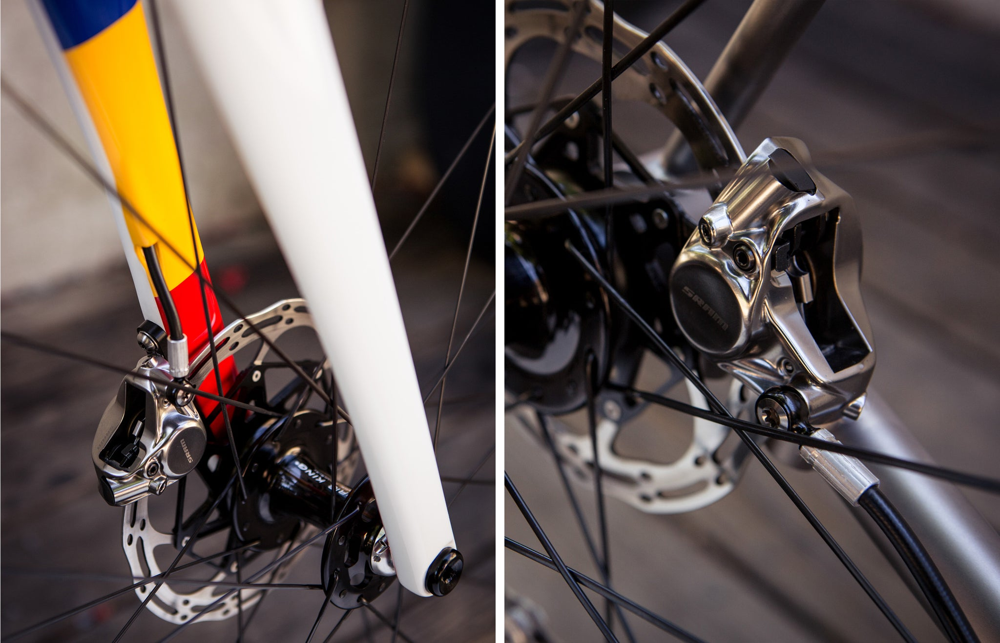 Mosaic Rt-1 Disc Tricolor brakes