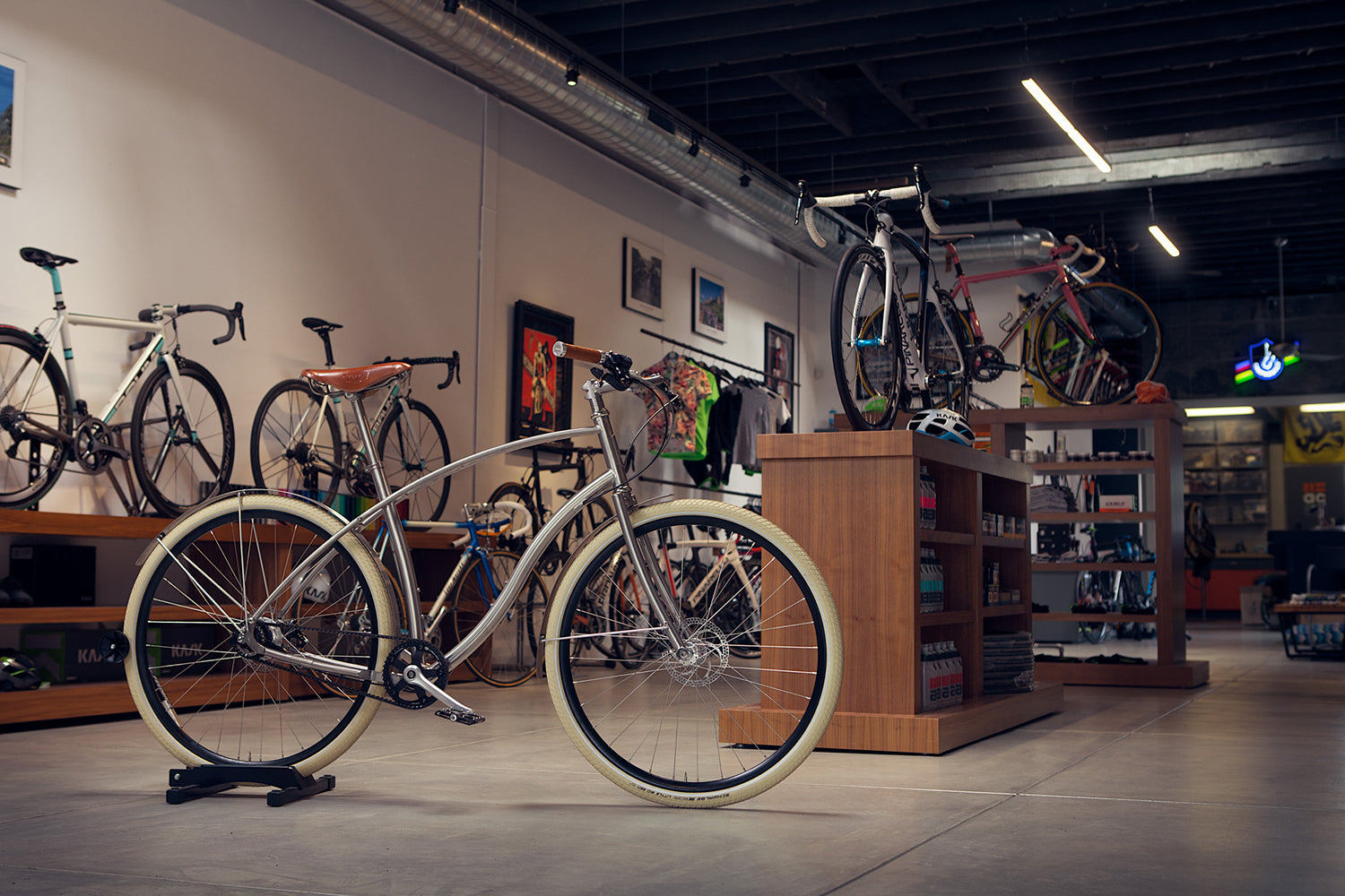 Budnitz Bicycles at Above Category