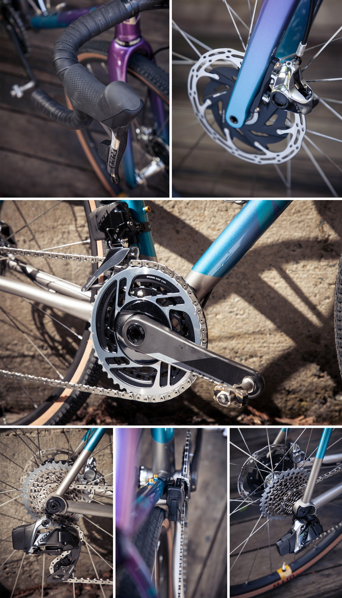 custom bike experience drive train