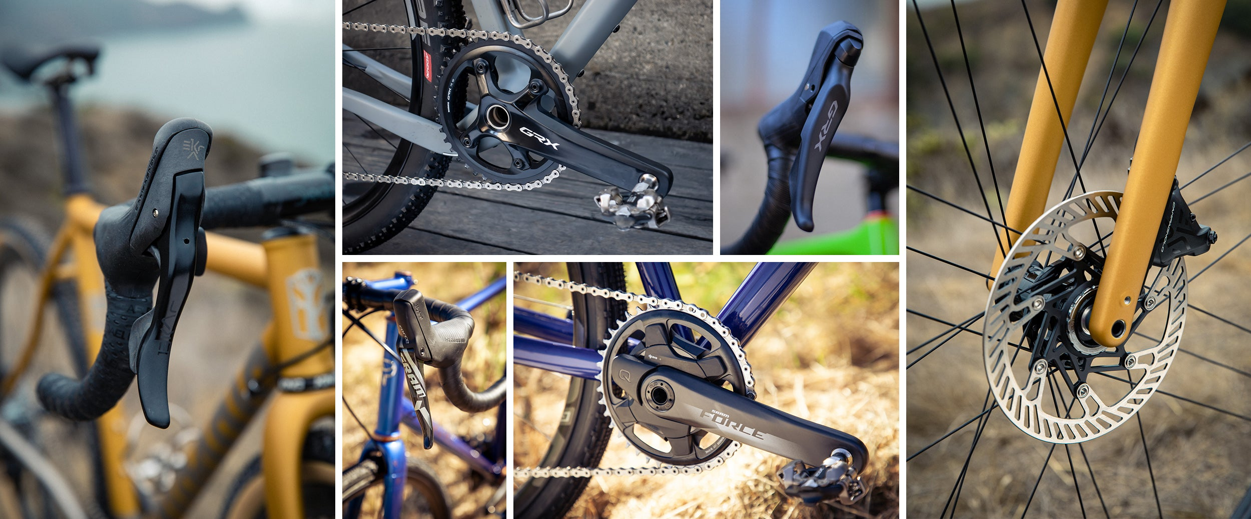 campagnolo ekar vs force and grx