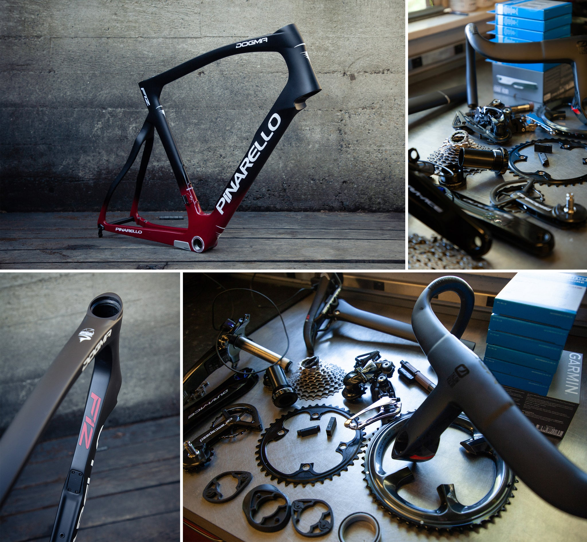 pinarello f12 build process