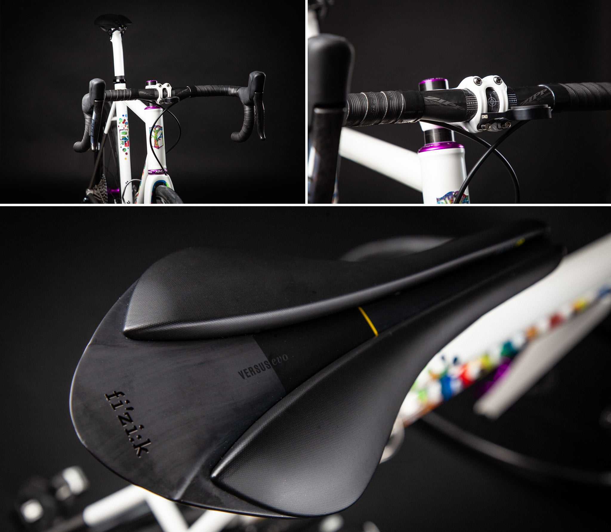 mosaic rt1 prismatica titanium road bike cockpit
