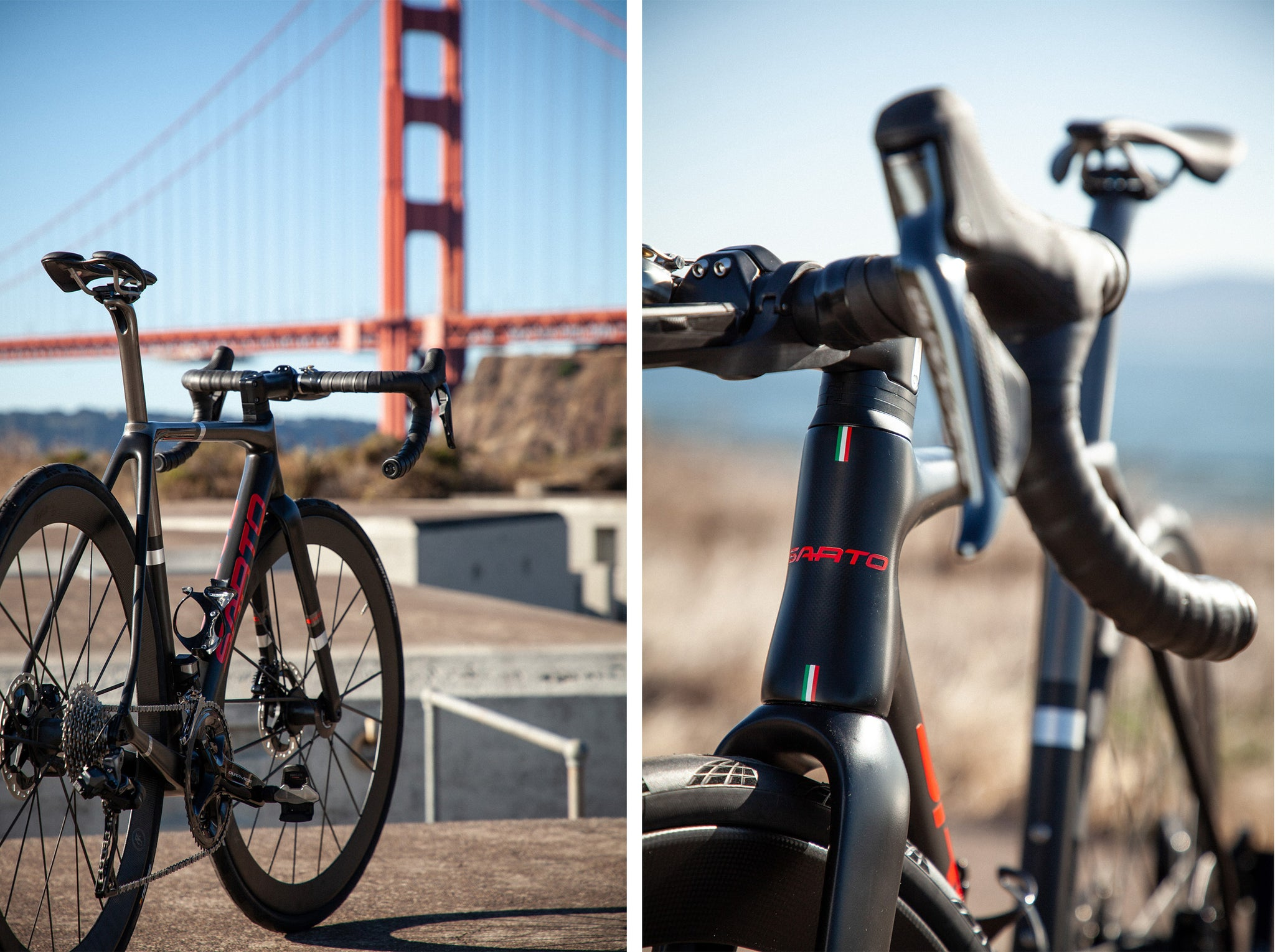 sarto seta plus golden gate bridge