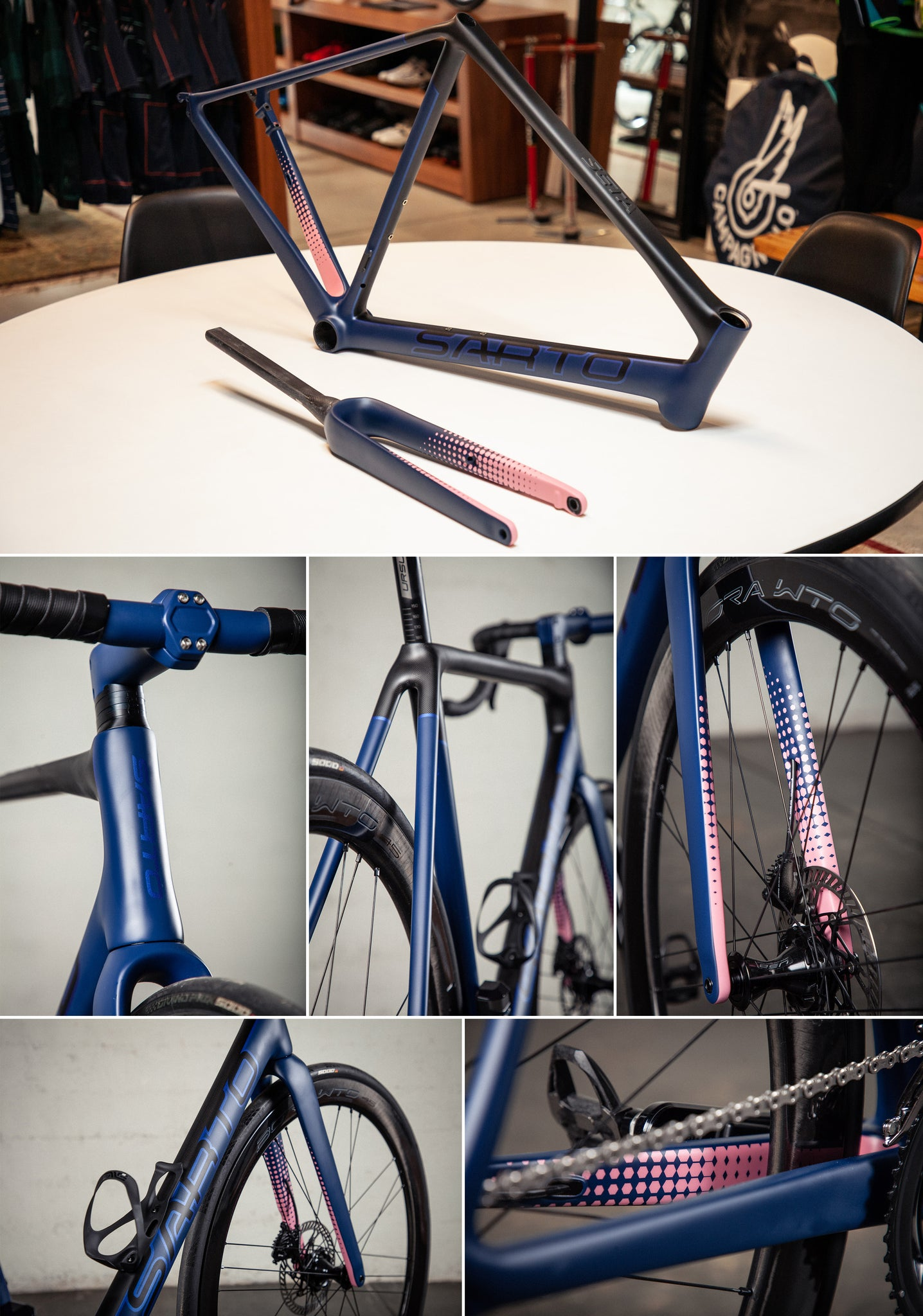 sarto seta plus velocolour paint details
