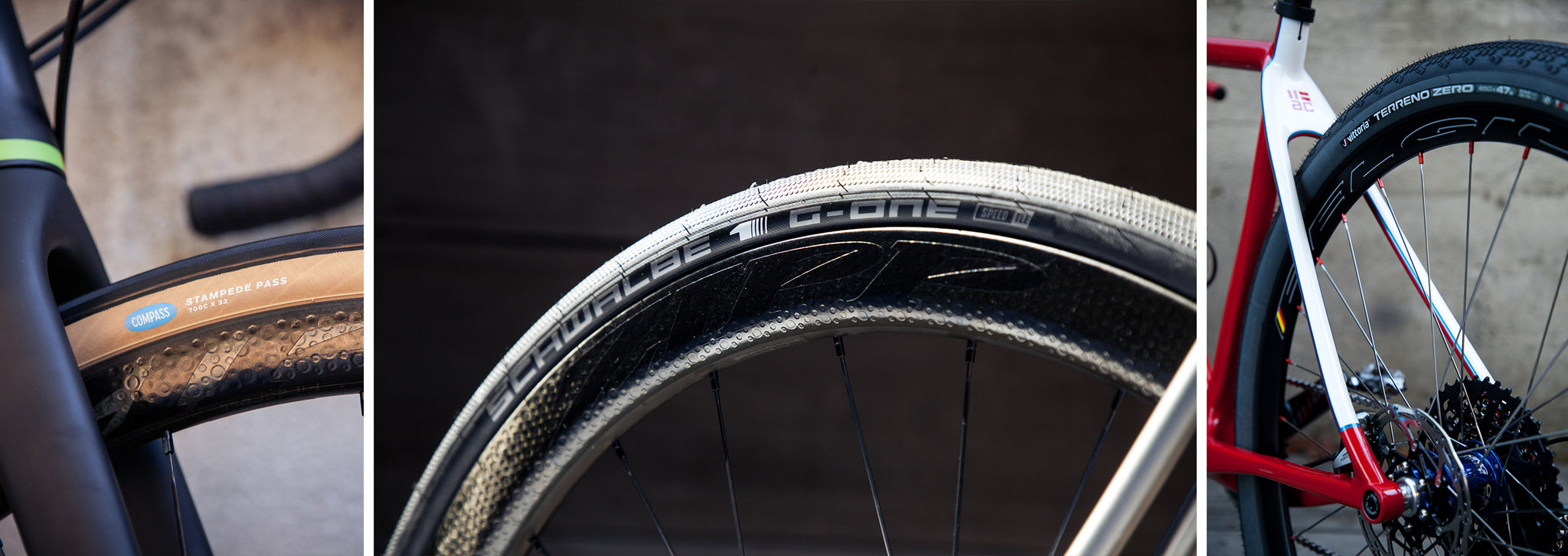 slick gravel tires