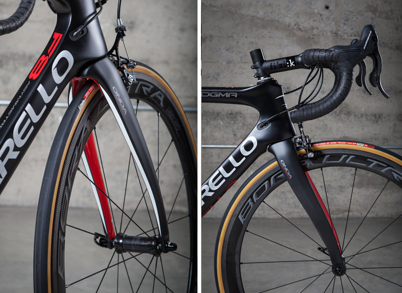 Front end of the 2016 Dogma F8