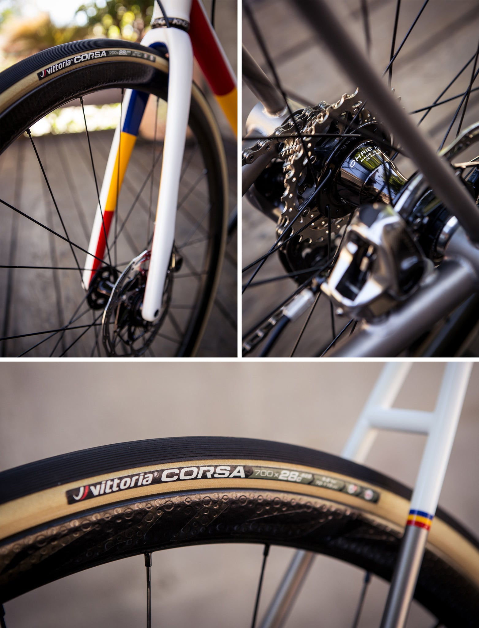 Mosaic RT-1 Disc TriColor Wheels