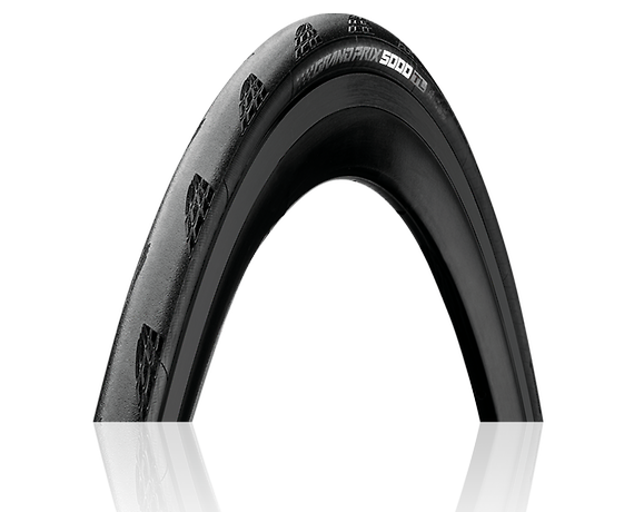 Continental Grand Prix 5000 TL Tire - 700 x 28, Tubeless, Folding, Black, 180tpi