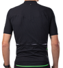 Q365 short sleeve jersey L1 pinstripe black back