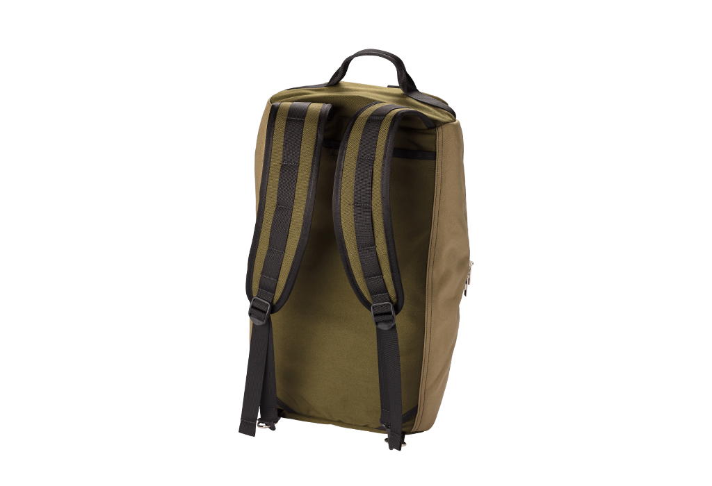 Number 2 Duffel Bag Backpack Moss Khaki Backpack Straps