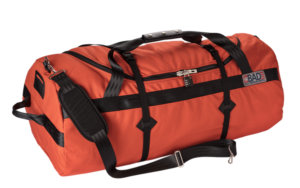 Number 8 Standard Duffel Bag Orange