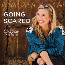 Going Scared Podcast, Jessica Honegger