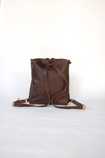 leather backpack made in kenya