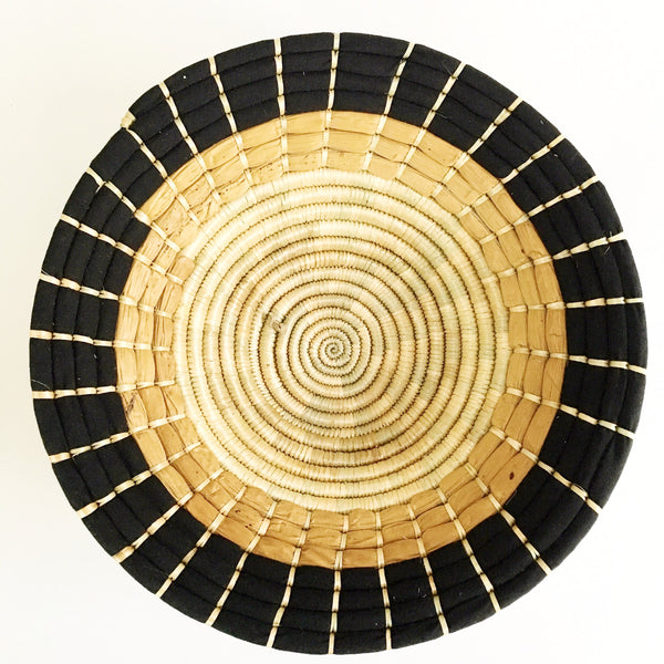 hand woven African basket made in Tanzania