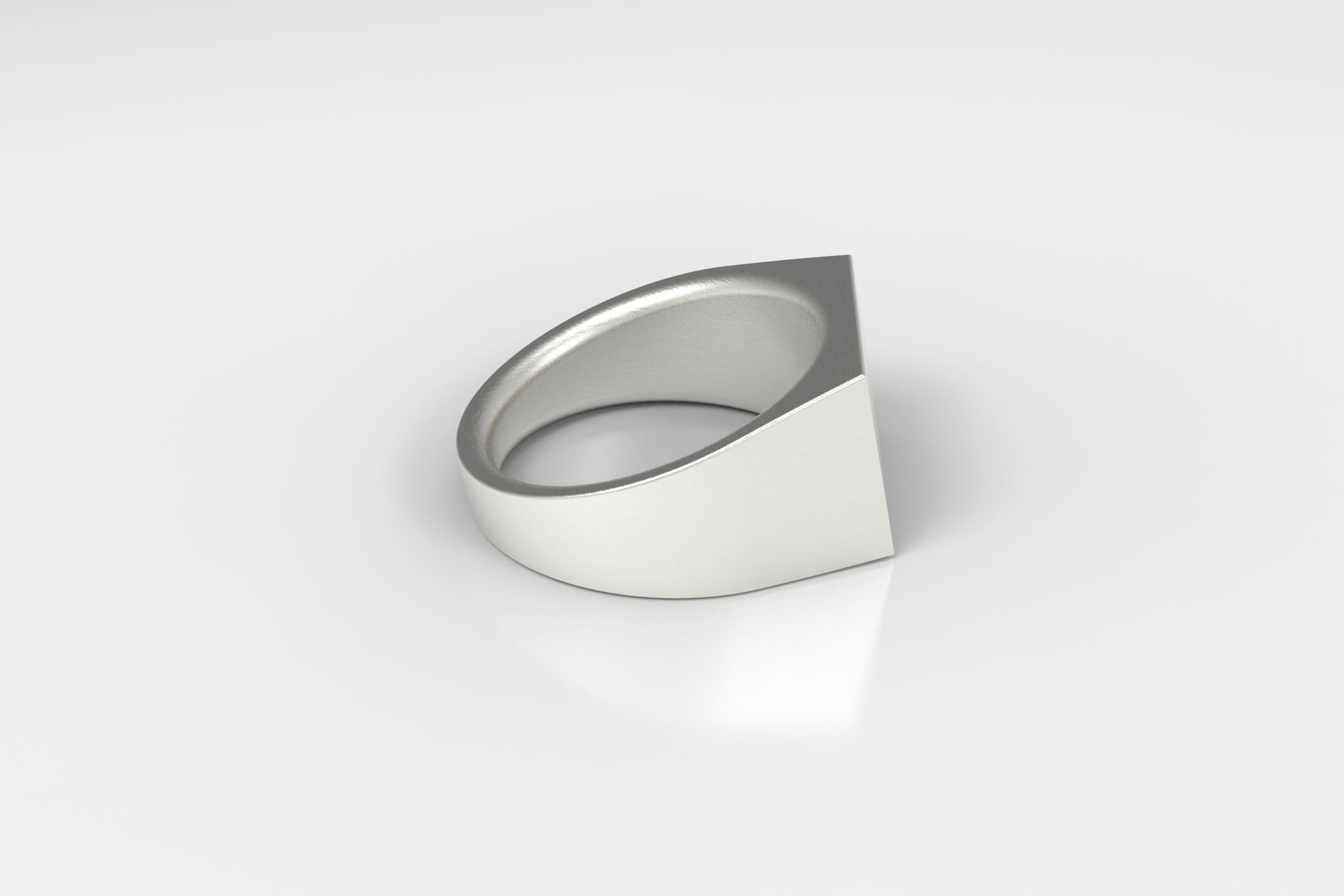 artifact 1 // 12mm Signet Ring // Sterling Silver