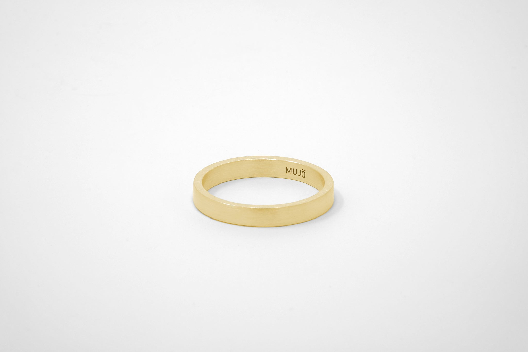 CS 4mm Band // 14K Gold // 18K Gold