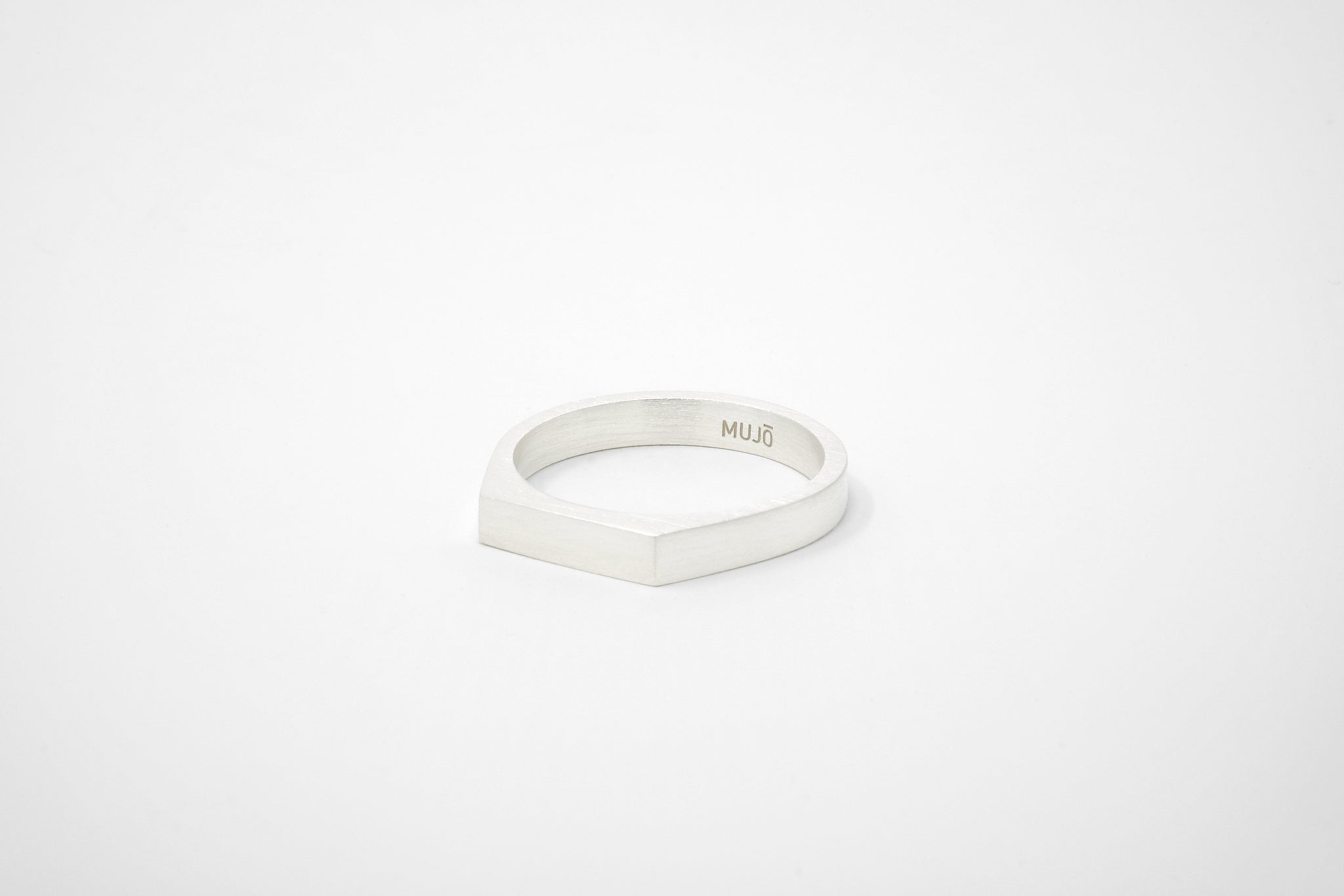 CS 4mm Signet Ring // 14K Gold // 18K Gold