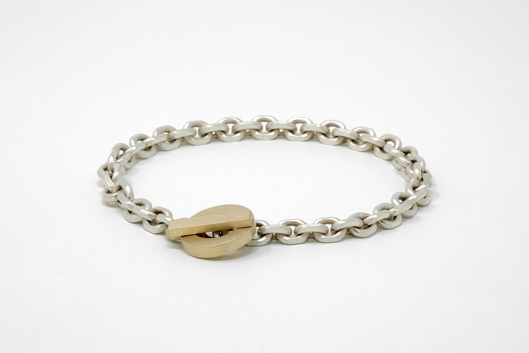 CS 6mm Chain Bracelet // Brass - Men's Chain Bracelet - MUJO NYC - 1